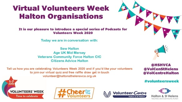 Vol Week Interviews with Halton Organisations
