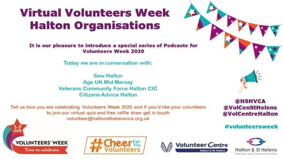 Vol Week Interviews with Halton Organisations